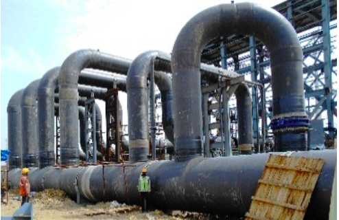 largest plant piping made in FRP for a single plant in India