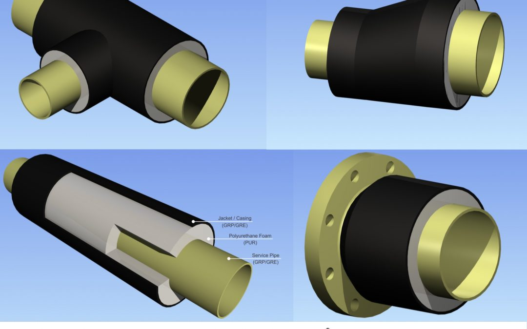 GRP, GRE and Thermoplastic Lined GRP Piping system – ThermoPipe-X