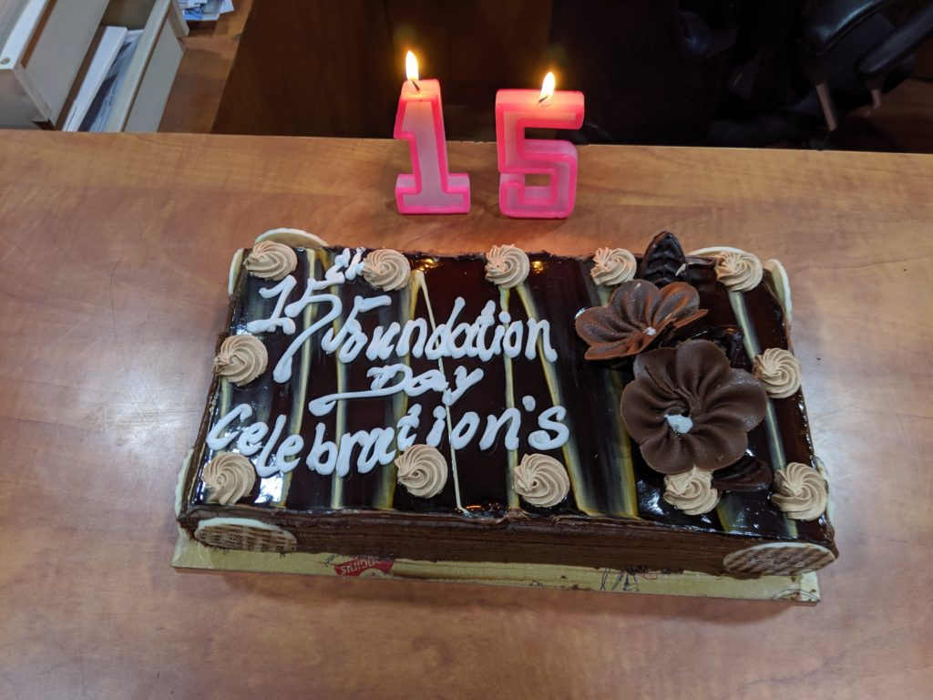 Foundation Day 15 years