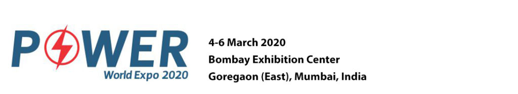 Chemtech will organise Power World Expo 2020 (Formerly known as EnerTECH World Expo) from March 4-6, 2020 in Bombay Exhibition Centre, Goregaon (East), Mumbai along with concurrent international exhibitions Oil & Gas + GASTech + Refining & Petrochemicals World Expo 2020, & focussed technical conferences.
