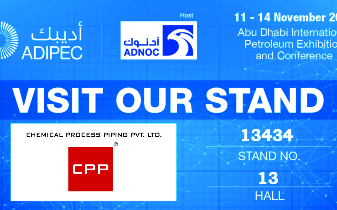 CPP at ADIPEC: Abu Dhabi International Petroleum Exhibition and Conference