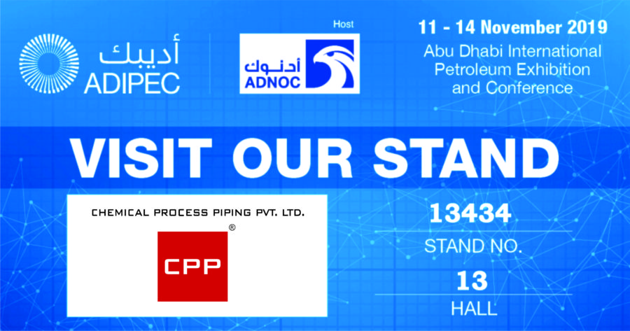 ADIPEC Abu Dhabi International Petroleum Exhibition Conference GRP Piping Chemicals Power Gas Oil Desalination
