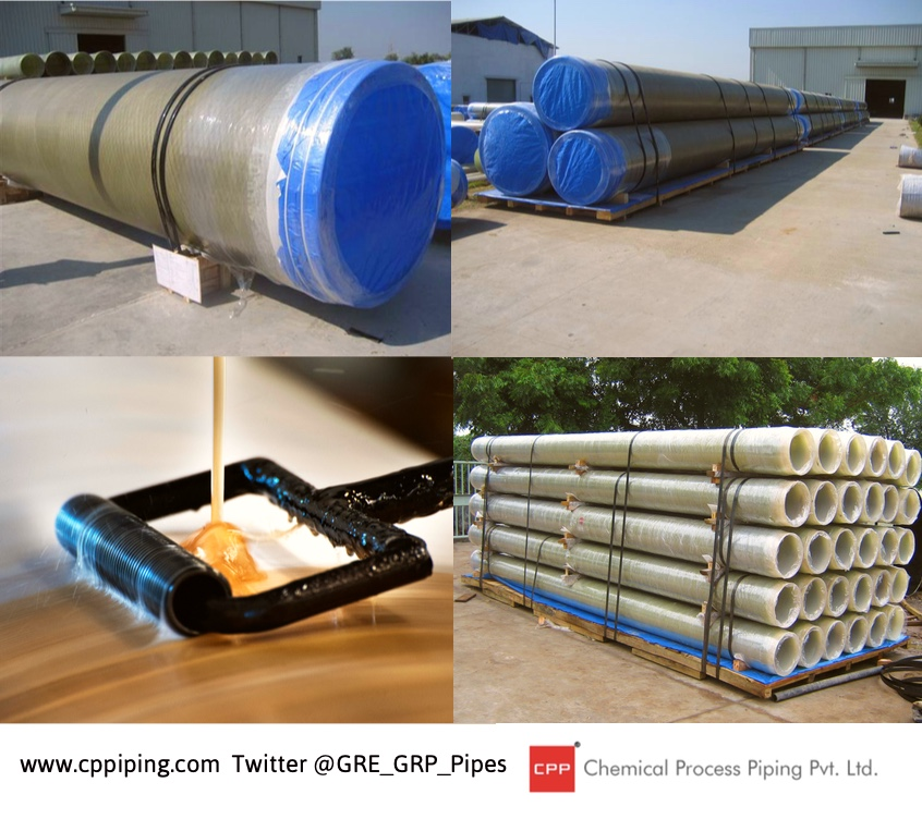 Chlor –Alkali Membrane Cell plants frp grp piping