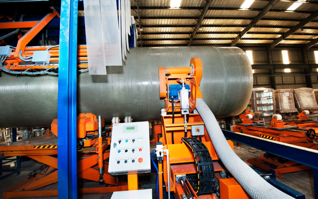 GRP Piping Continuous Filament Winding CFW Plant