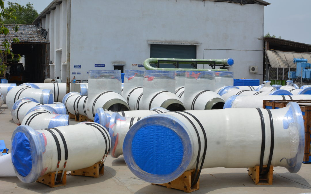 Special Fittings Ducts Headers GRP Piping, GRE and Thermoplastic lined FRP Pipes