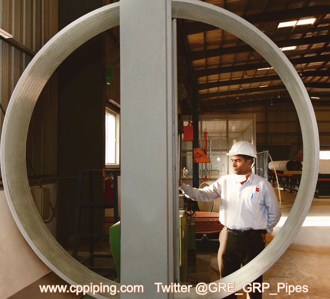 Largest manufacturer of GRP Piping in India for Oil and Gas industry