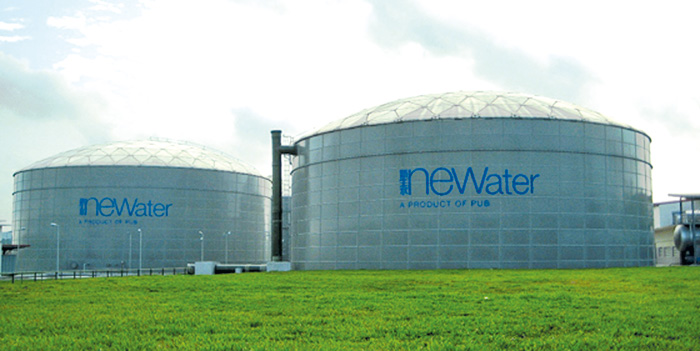 GRP Piping for Changi NEWater Plant, fifth and largest in Singapore