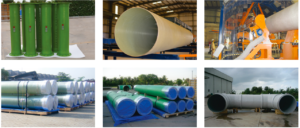 gre grp piping frp pipes