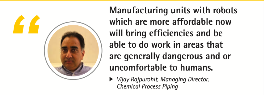 Vijay Rajpurohit – Bring efficiencies to manufacturing units